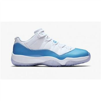 "Air Jordan 11 Low ""Columbia Blue"" White/University Blue (528895-106)"