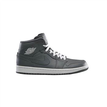 554724-003 Air Jordan 1 Retro Mid Cool Grey White