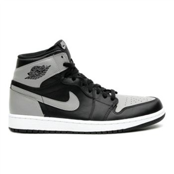 555088-014 Air Jordan 1 Retro Air Jordan 1 Retro High OG-Black-Soft Grey