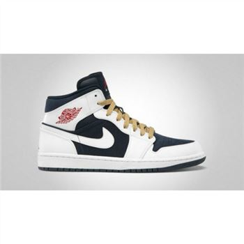364770-400 Air Jordan 1 Retro Phat Olympic (USA) Obsidian Gym Red White