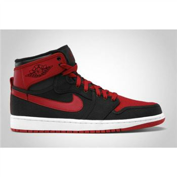 402297-001 Air Jordan 1 KO 2012 Black Varsity Red White A01016