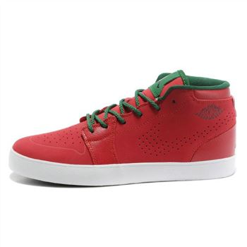 Air Jordan 1 Red Green Mens Vivism Casual Shoes