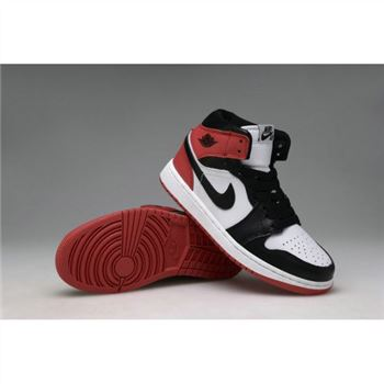 Air Jordan 1 Retro High OG White Black-Varsity Red (Men Women GS Girls)