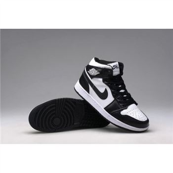 Air Jordan 1 Retro High OG-Black-Soft White (Men Women GS Girls)