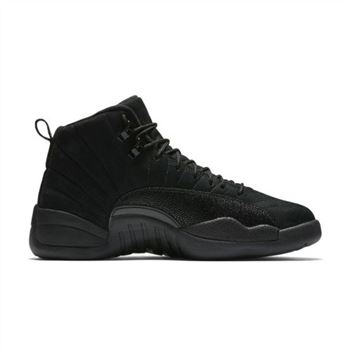 Authentic Air Jordan 12 Retro OVO Black/Black-Metallic Gold
