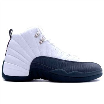 136001-102 Air Jordan XII 12 Retro Mens Basketball Shoes White Flint Grey A12009