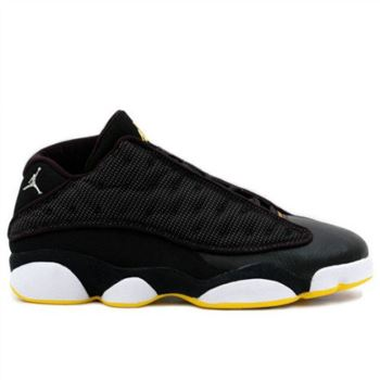 310810-001 Air Jordan 13 Low Black Yellow