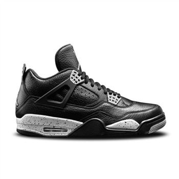 Authentic 314254-003 Air Jordan 4 Retro Black/Black-Cool Grey