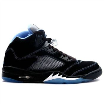 314259-041 Air Jordan 5 (V) Retro LS Black University Blue White A05008