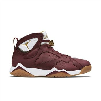 Authentic 725093-630 Air Jordan 7 Retro C&C Team Red/Metallic Gold-Sail-Gum Light Brown