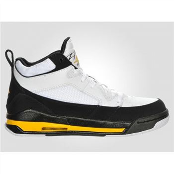Jordan Flight 9 Mens Basketball Shoes White Black Varsity Maize A21028