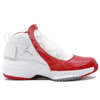 307546-101 Air Jordan 19 XIX Original OG Midwest White Varsity Red A21008