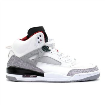315371-101 Air Jordan Spizike OG White Cement Grey Black A23009