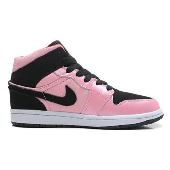 555112-608 Air Jordan 1 Mid GS Ion Pink