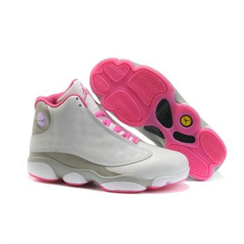 Air Jordan 13 XIII Womens Pink White A24036