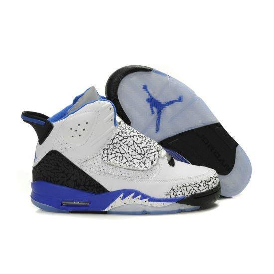 promo code 5bfe3 f010a Air Jordan Son Of Mars Mens Shoes White Blue A22007